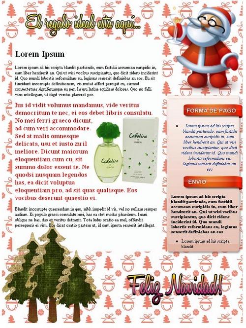 Product picture Paquete de Plantillas navideñas para MercadoLibre y otros